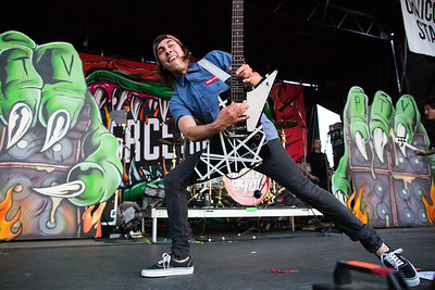 Vic Fuentes of Pierce The Veil