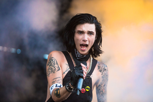 Andy Biersack of Black Veil Brides