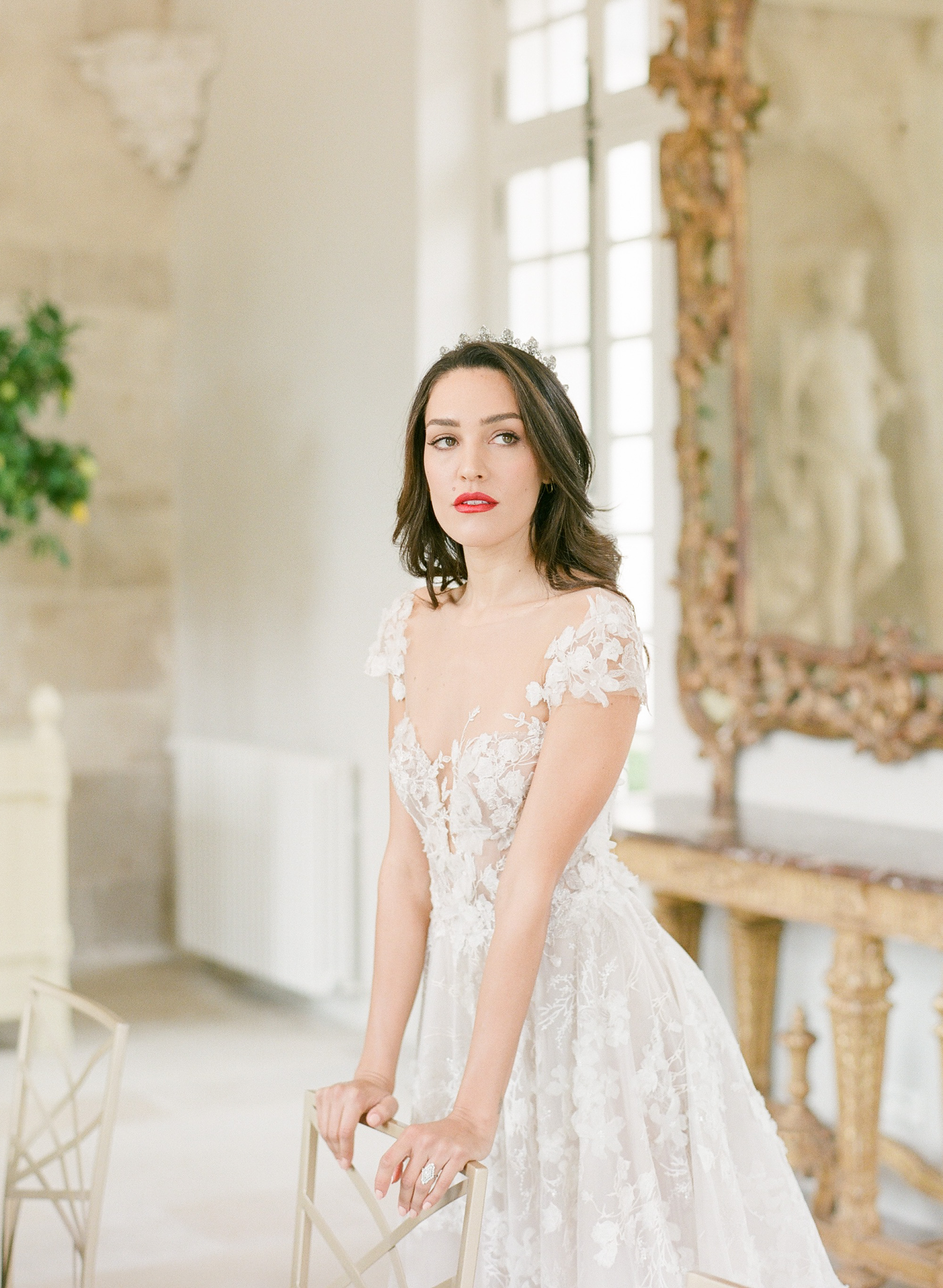 chateau de villette wedding photos