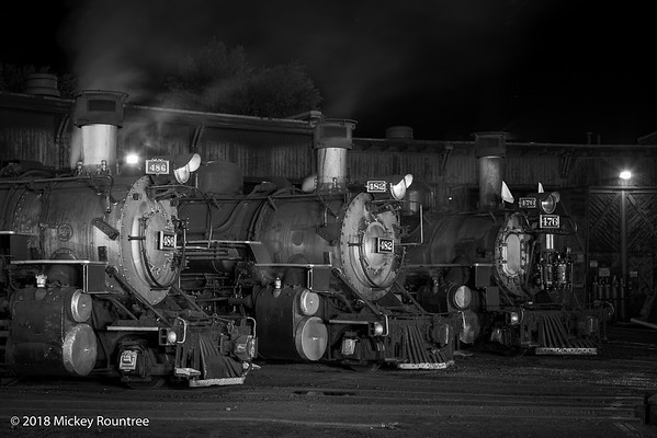 September 22, 2018 Durango Night Train shoot