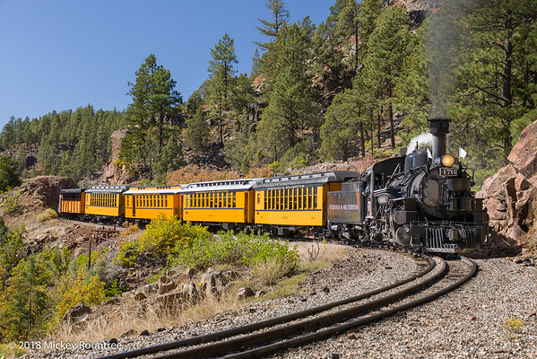 September 22, 2018 Durango Train Day 1