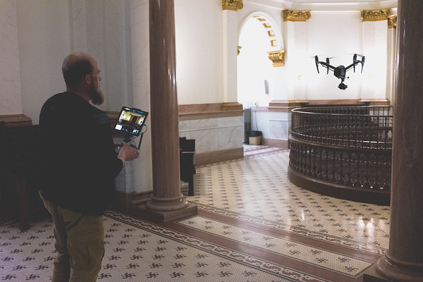 Steve and his DJI Inspire 2