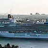 Island Princess heading out live