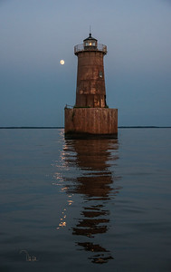 Bloody Point Moonrise
