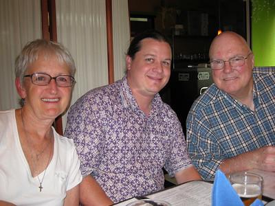 Linda, Patrick & Mike