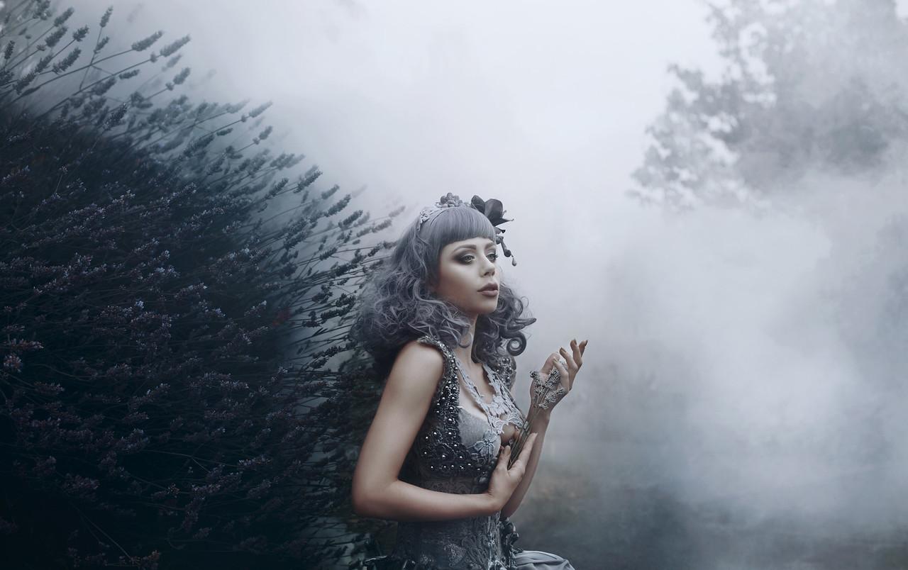 Lost in a lavender haze...
