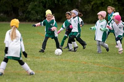 BHYS 1st Grade Girls  2009-10-17  1