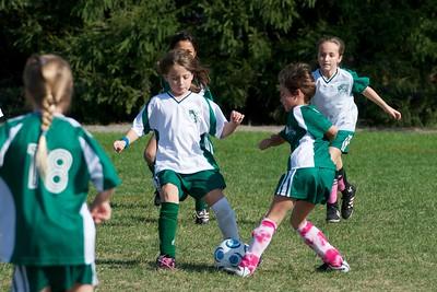 BHYS 2nd Grade Girls  2010-10-10  9