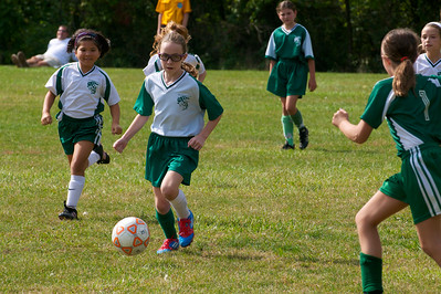 BHYS 4th Grade Girls  2012-09-16  3