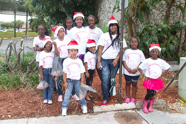 BL @ City of South Miami X-mas parade 2012