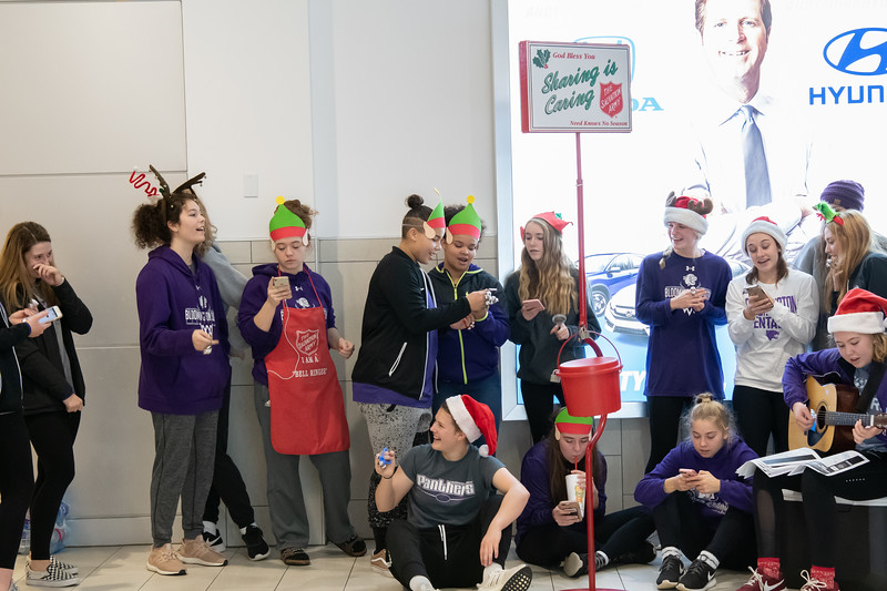 Salvation Army Bell Ringing-8733