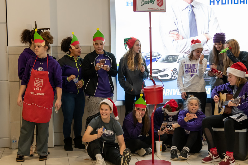 Salvation Army Bell Ringing-8748