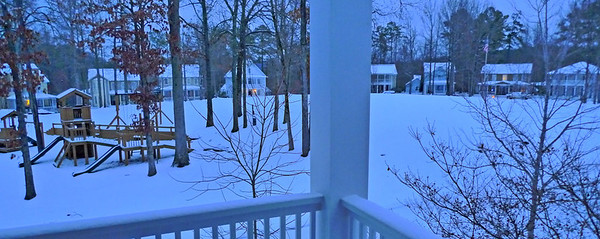 Blount Springs Snow January 10, 2011