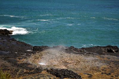 Blow Hole on Kauai