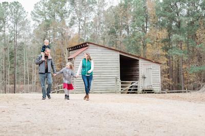 Mark + Michelle   Fall Family Portrait Session   Crump Park   Glen Allen, VA.
