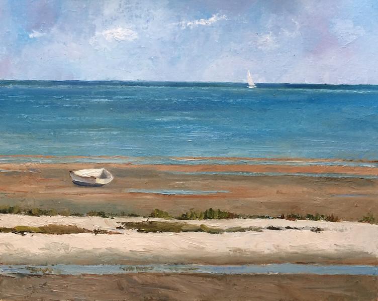 """Seascape"" (oil) by Grace McKee"