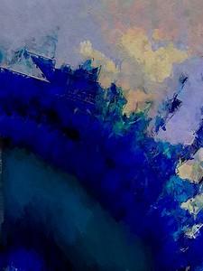 """Blue Storm"" (digital) by Cooky Goldblatt"