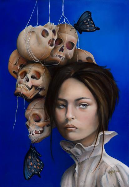"""Surrender"" (oil) by Mariana Peirano Royuela"