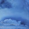 """BLUE 1"" (medium acrylic on canvas) by Vinoda Revannasiddaiah"