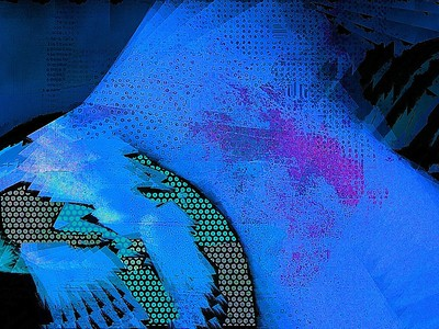 """Blue Dream"" (digital) by Cooky Goldblatt"