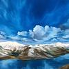 """""""Alps"""" (oil on canvas) by Natalia Marinych"""