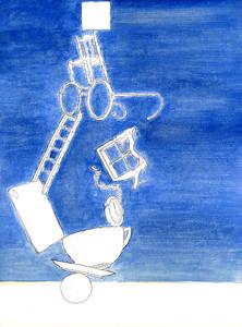 """""""Balance"""" (paint) by Ozan Adam"""