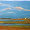 """Dune Road Hamptons"" (oil on canvs) by John Orr"