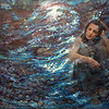 """Immerse"" (mixed medium) by Chantie Rony"