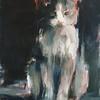 """Luka"" (oil on linen) by Yael Maimon"