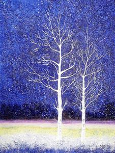 """Companion"" (oil on canvas) by Zachary Lim"