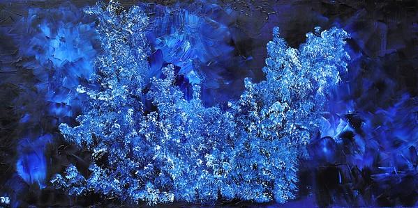 """Jewel"" (oil on canvas) by Daria Zaseda"