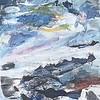"""The Blue Season"" (mixed media) by Meredith Smith"
