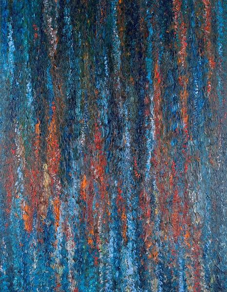"""""""Tears"""" (oil on canvas) by Tetiana Samoilovych"""