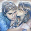 """Tenderness"" (paper, pastel) by Eugenia Shchukina"
