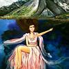 """""""Vivienne"""" (oil) by Shauna Britt"""