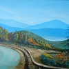 """Blue Ridge Morning"" (acrylic) by Joy Parks Coats"