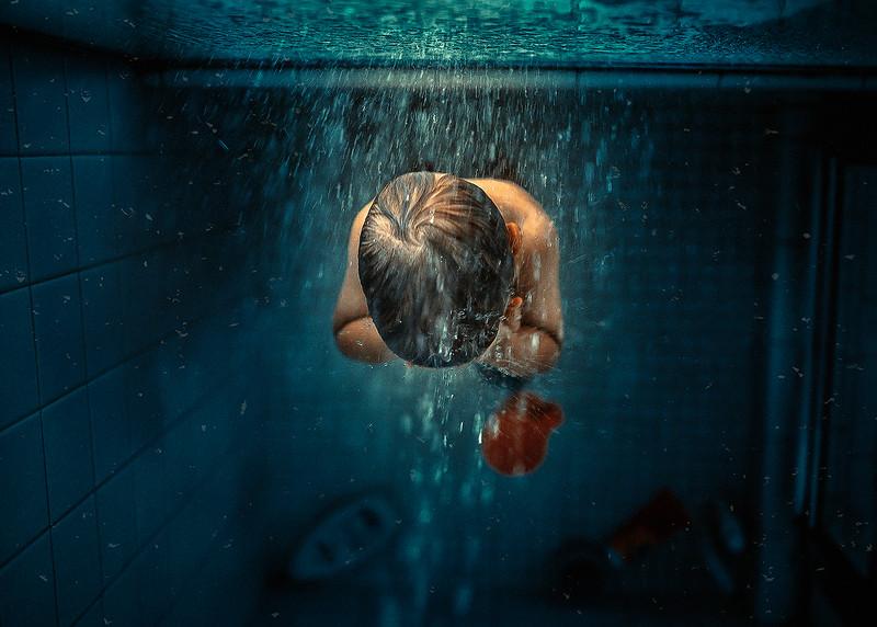"""Bath time"" (photography) by Natalia Kharitonova"