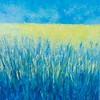 """Rapseed field"" (oil on canvas) by Tetiana Samoilovych"
