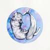 """Whale"" (watercolor) by Maria Stepanenko"