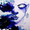 """Flames of Dreams"" (watercolor, digital processing) by Anastasiya Yurchanka"