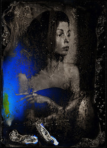 """SEASONS: AUTUMN"" (collodion wet plate ambrotype process) by Aleksandr Boguslavskii"