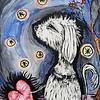 """Waiting"" (acrylic) by Jennifer Carberry-Landis"