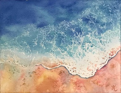 """Caribbean Lace"" (watercolor) by Kay Cross"