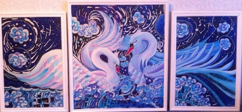 """Swan's fidelity"" () by Anna Gladkova"