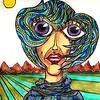 """""""Blue Fields"""" (pastel) by William Erickson"""