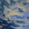 """Meditation"" (oil on canvas) by Maria Holmogorova"