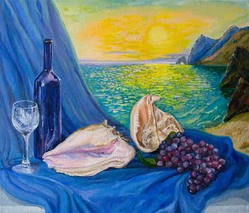 """Idyll"" (oil) by Nataliia Dovghaniuk"