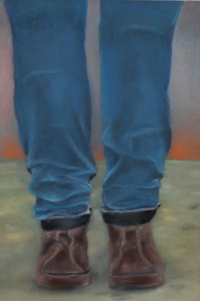 """Untitled"" (pastel) by Anna Beverwijk"