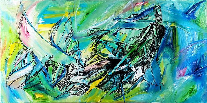 """The wisdom of the ocean"" (oil) by Olya Kartavaya"
