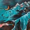 """""""Earth Mom"""" (mixed media) by Aliya Kovalenko"""
